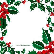 christmas mistletoe square christmas mistletoe frame vector