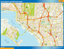 World Wall Map by World Wall Maps Store San Diego Downtown Map More Than 10 000