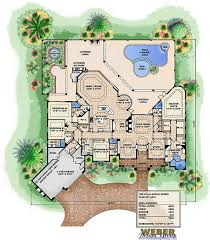 villa plans 4 bedroom 5 bath coastal house plan alp 0a17 allplans com