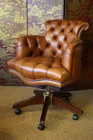 Antique Captains Chair Leather Desk Chair Leather Captain U0027s Desk Chair Leather Chairs Of