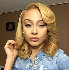 cute sew in hairstyles for black people brilliant blonde curls http community blackhairinformation com