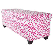 Noah Tufted Storage Ottoman The Sole Secret Noah Blush Button Tufted Shoe Storage Bench Free