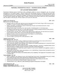 F B Manager Resume Sample National Account Manager Resume The Best Resume