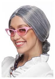 Halloween Costumes Lady Grey Lady Wig