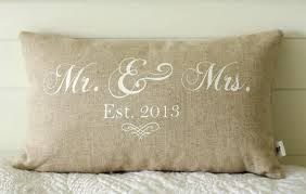 mr and mrs pillow mr and mrs pillow cover 12x20 lumbar choice of black or vintage
