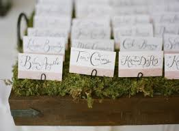 our reception details place cards table cards and table numbers