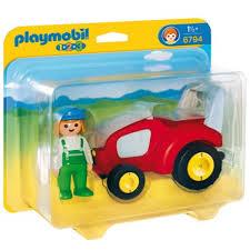 Anniversaire Tracteur by Agricultrice Avec Tracteur Playmobil 123 6794 U2013 La Grande