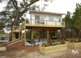 House Plans On Stilts A Beautiful Home In Mississippi Built On Stilts That Spans Just