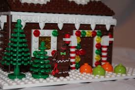 lego ideas christmas holiday gingerbread house