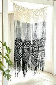 Burlap Shower Curtains Boho Chic Curtains Burlap Shower Curtain With Fringe Burlap Shower