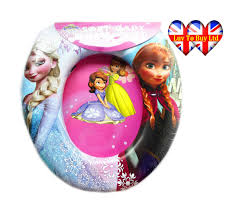 Cushioned Toilet Seats Child U0027s Soft Cushioned Toilet Seat With Cartoon Characters