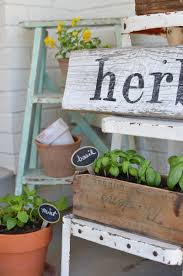 diy herb garden diy mobile box herb planter u2014 crafthubs