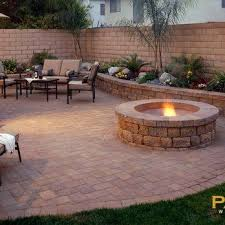 Concrete For Backyard by Paver Designs For Backyard Photo Of Well Concrete Paver Patios The