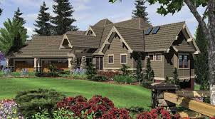 daylight basement homes craftsman house plan with 4 bedrooms and 3 5 baths plan 5555