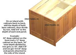 how to install base cabinets island kitchen island cabinets