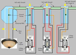 4 way switch installation circuit style 2