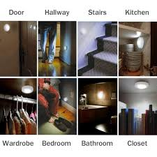 3 x motion sensor activated night lights stairs hallway bathroom