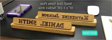 unique name plates name plates to make any office unique desk door or wall plates