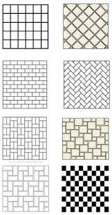 Great Ideas For Backsplash Or Bathroom Floor Design Tapestry - Bathroom tile layout designs