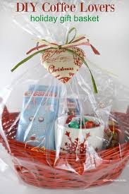 christmas gift basket ideas diy coffee gift basket about a