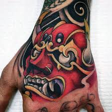 best 25 samurai mask tattoo ideas on pinterest oni tattoo