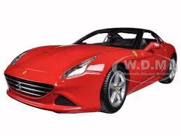 california model car california t closed top 1 18 diecast model car bburago 16003