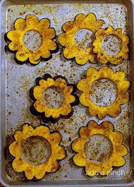 maple roasted acorn squash recipe add a pinch