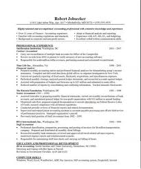 Best Accounting Resume Grant Accountant Resume Sample Best Format