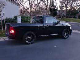 blacked out dodge truck blacked out r t with belltech drop dodgetalk dodge car forums