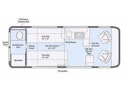 Class B Floor Plans by 2018 Winnebago Travato 59k Summerfield Fl Rvtrader Com