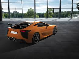 lexus lfa ad lexus lfa with nürburgring package interior