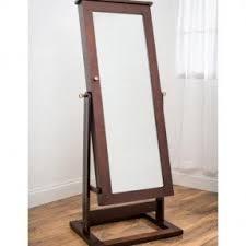 floor standing mirror jewelry armoire foter