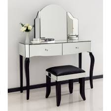 Mirrored Vanity Table Mirrored Dressing Table Also Glass Dressing Table Mirror Also