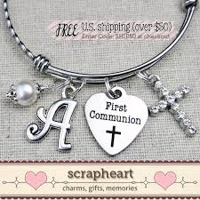 gifts for communion communion bracelet communion gift by