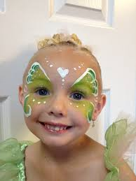 pixie princess face painting by jennifer van face