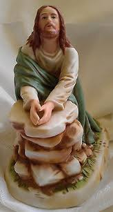 home interior jesus figurines home interior figurines collection on ebay