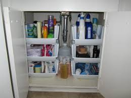 brilliant bathroom cabinet organizers homesfeed realie