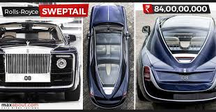 rolls royce price rolls royce sweptail is the world s most expensive car