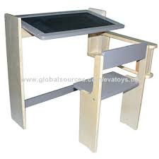 china 2015 multifunctional wooden foldable drawing table from