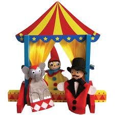 circus puppets sassafras circus kit lura meisch