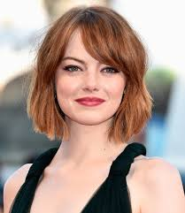 short hair cut pictures for hairstylist i got emma stone s exact bob from her hairstylist instyle com