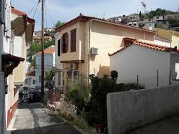 traditional two storey house in ano vathi samos samos