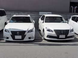 lexus vs toyota crown file toyota crown athlete u0026 hybrid royal saloon s210 front jpg