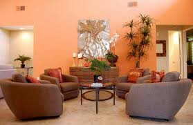 Orange Sofa Living Room Ideas Orange Living Room Ideas White Porcelain Vase And Bright