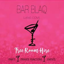 function venues lane cove bar blaq lane cove 9428 3431