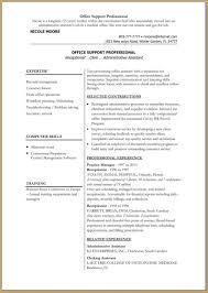 Sample Resume Objectives For Human Resource Assistant by 100 Exmple Cv Keep It Simple Cover Letter Format Simple