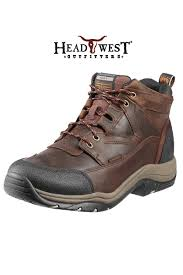 ariat boots men u0027s terrain waterproof lacers some of the most