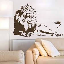 lion wall decals for living room decorative wall decals for