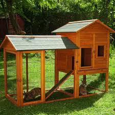 How To Build A Rabbit Hutch And Run Rabbit Hutch And Housing