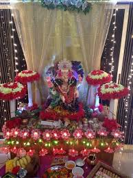 hindu decorations for home decoration ideas at home for ganpati with theme diwali 16